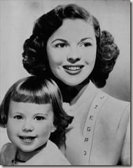Shirley Temple John Agar daughter Linda Susan Agar Black