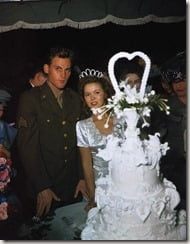 Shirley Temple John Agar wedding pics