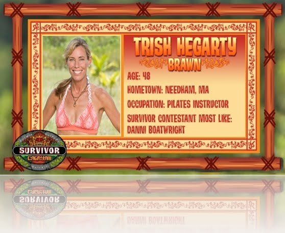 Trish Hegarty Survivor pictures
