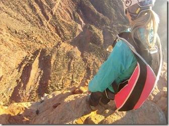 amber Marie Bellows Clayton Butler Base jumpers Utah photo