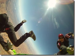 amber Marie Bellows Clayton Butler Base jumpers Utah-picture