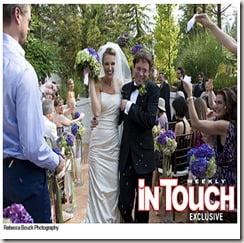 chris kattan Sunshine tutt wedding photo