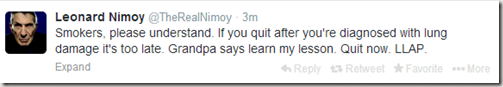 nimoy-tweets