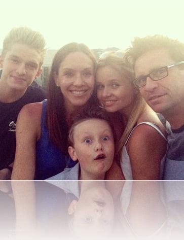 Angie Simpson Brad Simpson Cody Simpson