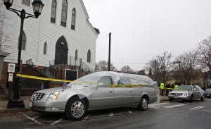 Benzino shot mother funeral