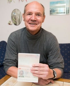 Christian Kozel, whose stolen passport was used by a passenger on the missing Malaysia Airlines flight MH370, Salzburg, Austria - 10 Mar 2014