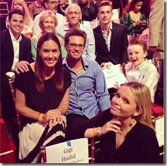 Cody Simpson family pic