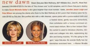 Dawn DaLuise celebrity skin care specialist photos