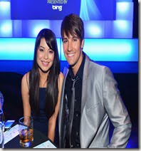James Maslow Miranda Cosgrove photo