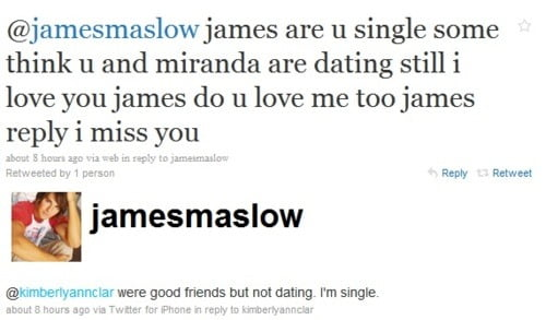 james maslow dating 2010 calendar