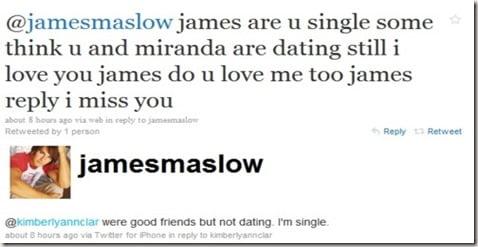 James Maslow Miranda Cosgrove