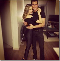 James Maslow  girlfriend Halston Sage pic