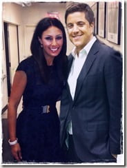 Josh Elliott and liz cho