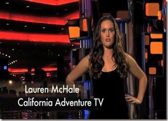 Lauren McHale california adventure tv