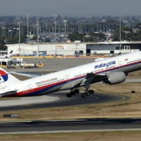 Malaysia Airlines boeing 777 Flight MH370