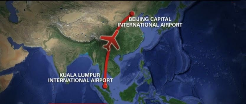 Malysia Airlines Flight MH370 missing photo