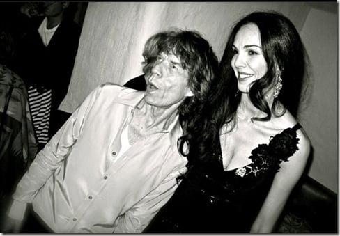 Mick Jagger girlfriend LWren Scott photo