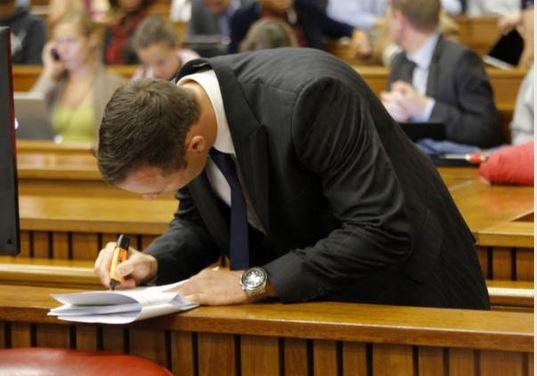 Oscar Pistorious trial day 2-pics