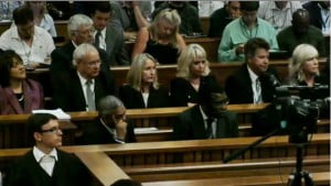 Oscar Pistorius Trial day one pic