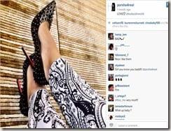 Porsha Williams Teodoro Nguema Obiang Mangue gifts picture