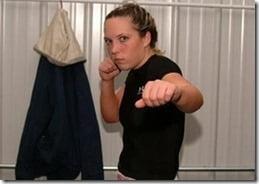 Sarah Lacina Survivor police officer-photos