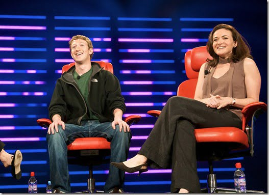 Sheryl Sandberg Mark Zuckerberg picture