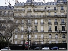 Teodoro Nguema Obiang Mangue  paris mansion