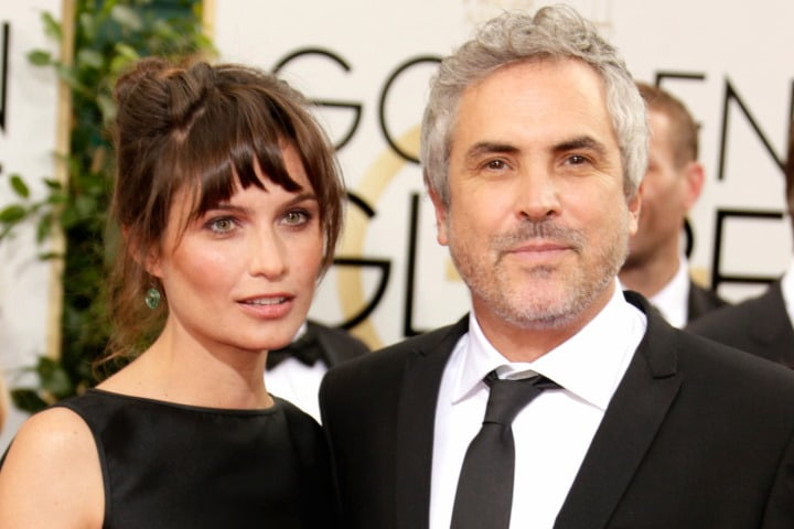 Director Alfonso Cuaron's Girlfriend Sheherazade Goldsmith