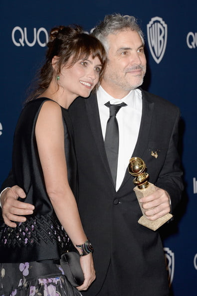 Director Alfonso Cuaron's Girlfriend Sheherazade Goldsmith (bio, wiki)
