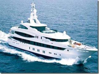 yacht  Teodoro Nguema Obiang Mangue