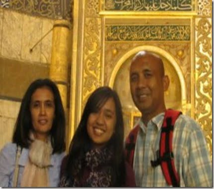 zaharie ahmad shah-wife