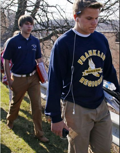 The identity of the 16-year-old student at Franklin regional High School in Pennsylvania has been revealed as Alex Hribal. The young sophomore went on a stabbing spree leaving 20 people injured, eight of those suffered serious wounds. #alexhribal #franklinregionalhighschool, @dailyentertainmentnews