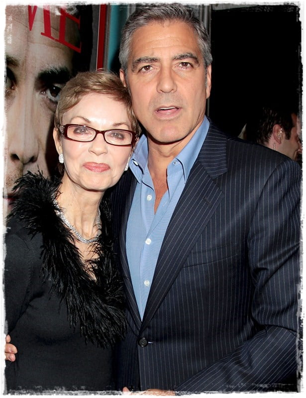 Yesterday, many single women were in tears over the news of George Clooney possible affair to his British lawyer girlfriend Amal Alamuddin. Many of Clooney fans hope the news was just a rumor, in case they could be the next girl in Clooney's arm after his split from Amal. But today his mom Nina Clooney confirm the story and she is  beyond happy with the engagement and her new daughter in-law. #georgeclooney #ninaclooney #nickclooney #ninabrucewarren @dailyentertainmentnews