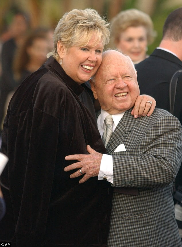 Jan chamberlain Rooney Mickey Rooney  wife