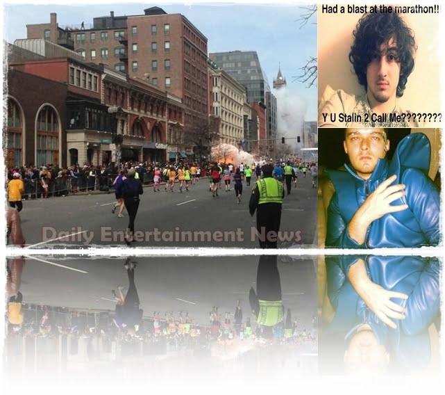 Kayvon Edson - Boston Marathon Bomber Hoax.