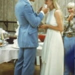 Lisa-Niemi-Patrick-Swayze-wedding-photo