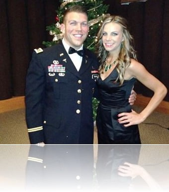 Maj. Patrick Miller wife Ashley Kelly Miller pictures