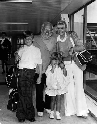 Mickey Rooney & Family