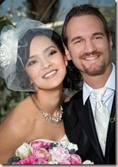 Nick Vujicic Kanae Miyahara wedding photo