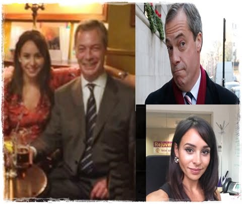 UKIP Party Leader Nigel Farage has enough ladies problems to be worrying about what just happened to one of his aides, Lizzy Vaid called the police after a series of extremely photos of her committing sexual acts were leaked to British tabloids, she accused a former boyfriend of the leak. #lizzyvaid #nigelfarage #ukip #topaide #sexualscandal @dailyentertainmentnews