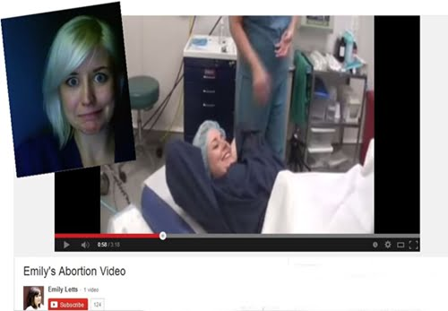 Emily Letts, an abortion counselor is causing an outraged after she posted a video of her getting an abortion, she said she didn't felt like a bad person, which is clearly after she says 'I'm done. Yay!' after the procedure was done. #abortionvideo #emilyletts #abortioncounselor @dailyentertainmentnews