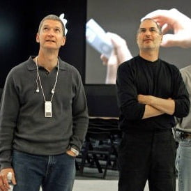 tim cook and steve jobs relationship