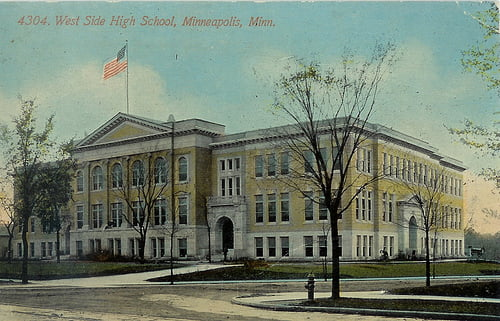west high school minneapolis harry reasoner