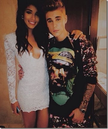 YOVANNA VENTURA  JUSTIN BIEBERAS NEW MODEL FRIEND OR