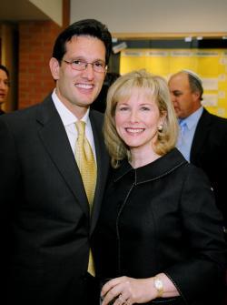Diana Cantor – House Majority Leader Eric Cantor's wife