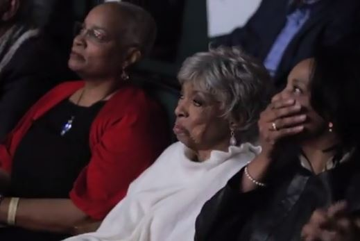 College Of New Rochelle >> Hasna Muhammad Davis and Nora Day Davis - Actress Ruby Dee