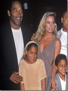 Sydney and Justin Simp...O J Simpson Daughter Arnelle