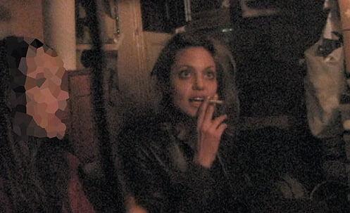 Angelina Jolie  drugs-photo