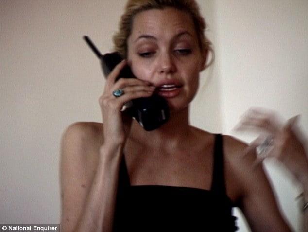 Angelina Jolie  drugs photo