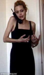 Angelina Jolie  drugs-pictures